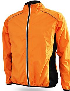 Cyklo bunda Unisex Jezdit na kole Větrovky sako Voděodolný Větruvzdorné Odolné vůči dešti Proti sluci Terylen JednobarevnéOutdoor a