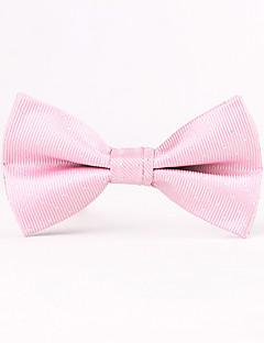 Herrer Butterfly-Vintage / Fest / Kontor / Casual Bomuld / Bomuldsblanding / Polyester-Ensfarvet Pink