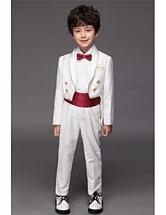 Полиэфир / Серж / Комбинирование ткани (полиэфир/хлопчатник) Детский праздничный костюм - 5 Куски Включает в себяЖакет / Рубашка / Брюки