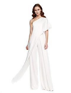 Pouzdrové Jedno rameno Na zem Šifón Promoce Formální večer Šaty s Sklady podle TS Couture®