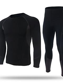 XINTOWN Homens Camiseta Segunda Pele Manga Longa Térmico/Quente Secagem Rápida Forro de Velocino Respirável Compressão Sensação de