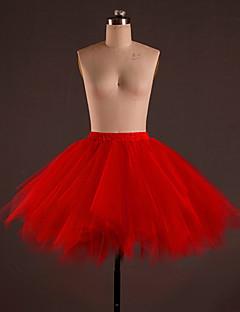Ballet Kleding Onderlichaam Dames Opleiding Polyester Gedrapeerd 1 Stuk Laag Rok