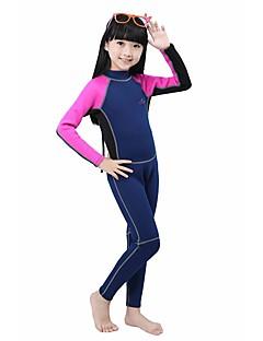 BlueDive® 여성의 남성의 아이의 2mm 잠수복 전신 잠수복 보온 빠른 드라이 자외선 방지 압축 소프트 풀 바디 나이론 네오프렌 잠수복 긴 소매 수영복 다이빙 복-수영 다이빙 파도타기 스노쿨링 패치 워크