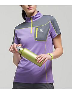 בגדי ריקוד נשים יוניסקס טישרט לטיולי הליכה ייבוש מהיר צמרות ל ספורט פנאי קיץ M L XL