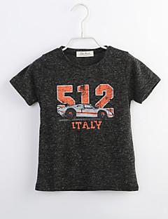 Junge T-Shirt Lässig/Alltäglich Geometrisch Baumwolle Sommer Kurzarm