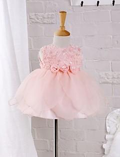 Baby Formelle Kjole Polyester Sommer Rosa