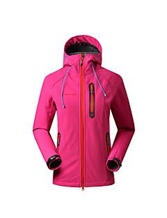 Mulheres Blusas Acampar e Caminhar Esportes de Neve De Excursionismo Respirável Térmico/Quente Primavera Verão OutonoVermelho Preto roxo