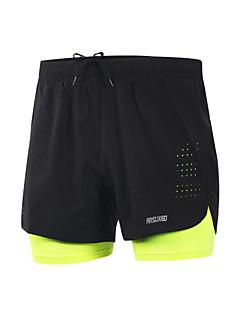 Shorts de Corrida Secagem Rápida Materiais Leves Tiras Refletoras Reduz a Irritação Shorts para Ioga Acampar e Caminhar Taekwondo Boxe