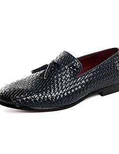 Bărbați Pantofi Piele Primăvară Vară Toamnă Iarnă pantofi Bullock Pantofi formale Cizme la Modă Oxfords Plimbare Combinată Pentru Nuntă