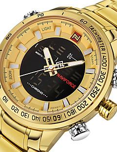 Herrn Sportuhr Militäruhr Kleideruhr Modeuhr Armbanduhr Armband-Uhr Armbanduhren für den Alltag Digitaluhr Japanisch Quartz digital LED