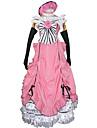 Inspire par Black Butler Ciel Phantomhive Manga Costumes de Cosplay Costumes Cosplay Robes Mosaique Sans ManchesRobe Gants Noeud papillon
