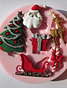 Moule de Cuisson Cartoon 3D Pour Gateau Pour Cookie Pour Tarte Silikon Ecologique Haute qualite Noel
