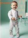 Băieți Seturi Bumbac Primăvară Toamnă Manșon Lung Cămașă Pantaloni Set Îmbrăcăminte