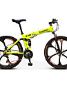 Vélo tout terrain Vélo pliant Cyclisme 21 Vitesse 26 pouces/700CC Frein à Double Disque Fourche de suspension Suspension Arrière Ordinaire