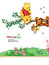 Animale / Botanic / Desene Animate / Natură moartă / Modă / Florale / Timp Liber Perete Postituri Autocolante perete plane,PVC 70*50*0.1