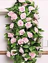 Une succursale Soie Plastique Roses Guirlande et Fleur Murale Fleurs artificielles 240*15*15cm