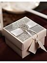 50 Piesă/Set Favor Holder-Cubic Hârtie perlă Cutii de Cadouri Personalizat