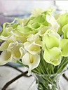 10 Une succursale Contact reel Calla Lily Fleur de Table Fleurs artificielles