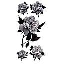 hesapli dövme çıkartma-# (5) desen su geçirmez çiçek serisi dövme çıkartma