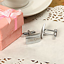 cheap Party Headpieces-Zinc Alloy Cufflinks & Tie Clips Groom Groomsman Wedding Anniversary Birthday