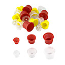 cheap Tattoo Transfers & Supplies-500 Pcs Mixed Tattoo Inks Cups