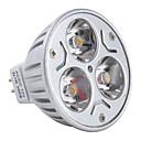 preiswerte LED Einbauleuchten-3000lm GU5.3(MR16) LED Spot Lampen MR16 3 LED-Perlen Hochleistungs - LED Warmes Weiß 12V