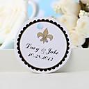 baratos Suporte para Lembrancinhas-etiqueta de favor personalizada - flor-de-luce (conjunto de 36) favores de casamento