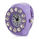ieftine Ceasuri Damă-Pentru femei Quartz Ceas inel Japoneză imitație de diamant Bandă Sclipici Violet