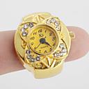 ieftine Ceasuri Damă-Pentru femei Quartz Ceas inel Japoneză Ceas Casual Aliaj Bandă Floare / Vintage Auriu