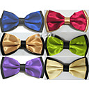 cheap Rings-Men's Party Bow Tie - Color Block