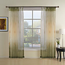 cheap Curtains Drapes-Bedroom Multi Color 100% Polyester Polyester Print & Jacquard