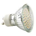 hesapli Çerez Araçları-2800 lm GU10 LED Spot Işıkları MR16 60 led SMD 3528 Sıcak Beyaz Doğal Beyaz AC 220-240V