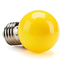 preiswerte LED Glühbirnen-1pc 1 W 80 lm E26 / E27 LED Kugelbirnen G45 8 LED-Perlen SMD 2835 Dekorativ Gelb 220-240 V / RoHs