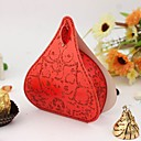 cheap Cake Toppers-Creative Card Paper Favor Holder with Pattern Favor Boxes - 12