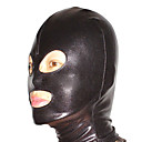 halpa Zentai-Naamio Ninja Zentai Cosplay-asut Musta Yhtenäinen Naamio Spandex Miesten Naisten Halloween