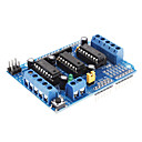 preiswerte Andere Teile-L293D Motor Driver Expansion Board Motor Control Shield (Blue)