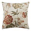 cheap Pillow Covers-1 pcs Polyester Pillow Cover, Floral Country