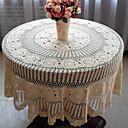 hesapli Masa / Sehpa Örtüleri-100% pamuk Yuvarlak Masa Örtüleri Çiçekli Çevre-dostu Masa Süslemeleri 1 pcs