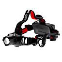 お買い得  フラッシュライト/キャンプ用ランタン-ヘッドランプ LED 200lm 3 照明モード ズーム可能 / 焦点調整可 / 充電式 キャンプ / ハイキング / ケイビング