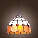 povoljno Viseća rasvjeta-60W Tiffany privjesak svjetlo s jedne lake jednostavnog dizajna