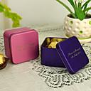 hesapli Çıkartmalar, Etiketler ve Tagler-Kişiselleştirilmiş Cuboid Favor Tin - 12 Set (Daha fazla renk)