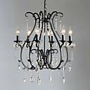 זול עדשות מצלמה חכמה-QINGMING® בסגנון נרות נברשות תאורה כלפי מעלה - קריסטל, 110-120V / 220-240V נורה אינה כלולה / 50-60㎡ / E12 / E14