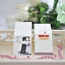 preiswerte Schlüsselanhänger-Personalisierte Box Material / Hartkartonpapier Hochzeits-Dekorationen Hochzeit / Party Klassisch / Hochzeit Ganzjährig