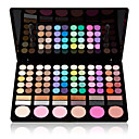 cheap Eyeshadows-78 Colors Eyeshadow Palette / Powders Eye Daily Makeup / Halloween Makeup / Party Makeup Makeup Cosmetic / Matte / Shimmer