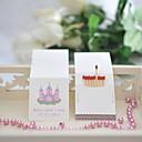 preiswerte Servietten für die Hochzeit-Hochzeit Dekor personalisiert Streichholzschachteln - Burg (set of 50)