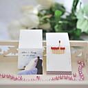 hesapli Anahtarlık Hediyelikleri-Parti / Parti / Gece Malzeme Sert Kart Kağıdı Düğün Süslemeleri Kumsal Teması / Tatil / Klasik Tema / Düğün Bahar Yaz Tüm Mevsimler