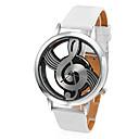 preiswerte Mode Uhr-Damen Uhr Modeuhr Quartz Gestepptes PU - Kunstleder Weiß Transparentes Ziffernblatt Analog damas Weiß / Ein Jahr / Ein Jahr / SSUO 377
