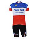 ieftine Jerseru Cycling-Kooplus Manșon scurt Jerseu Cycling cu Pantaloni Scurți Bicicletă Pantaloni scurți Jerseu Set de Îmbrăcăminte, Uscare rapidă, Vară,