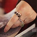 preiswerte Ringe-Damen Statement-Ring Ringe Set - Aleación Frieden Luxus, Retro 9 1 / 2 Für Party Alltag / 5 Stück