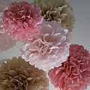 cheap Wedding Shoes-Tissue Paper Decoration Mixed Material Wedding Decorations Wedding Party Floral Theme / Classic Theme Spring / Summer / Fall